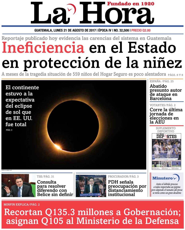 La Hora 21-08-2017 by La Hora - issuu