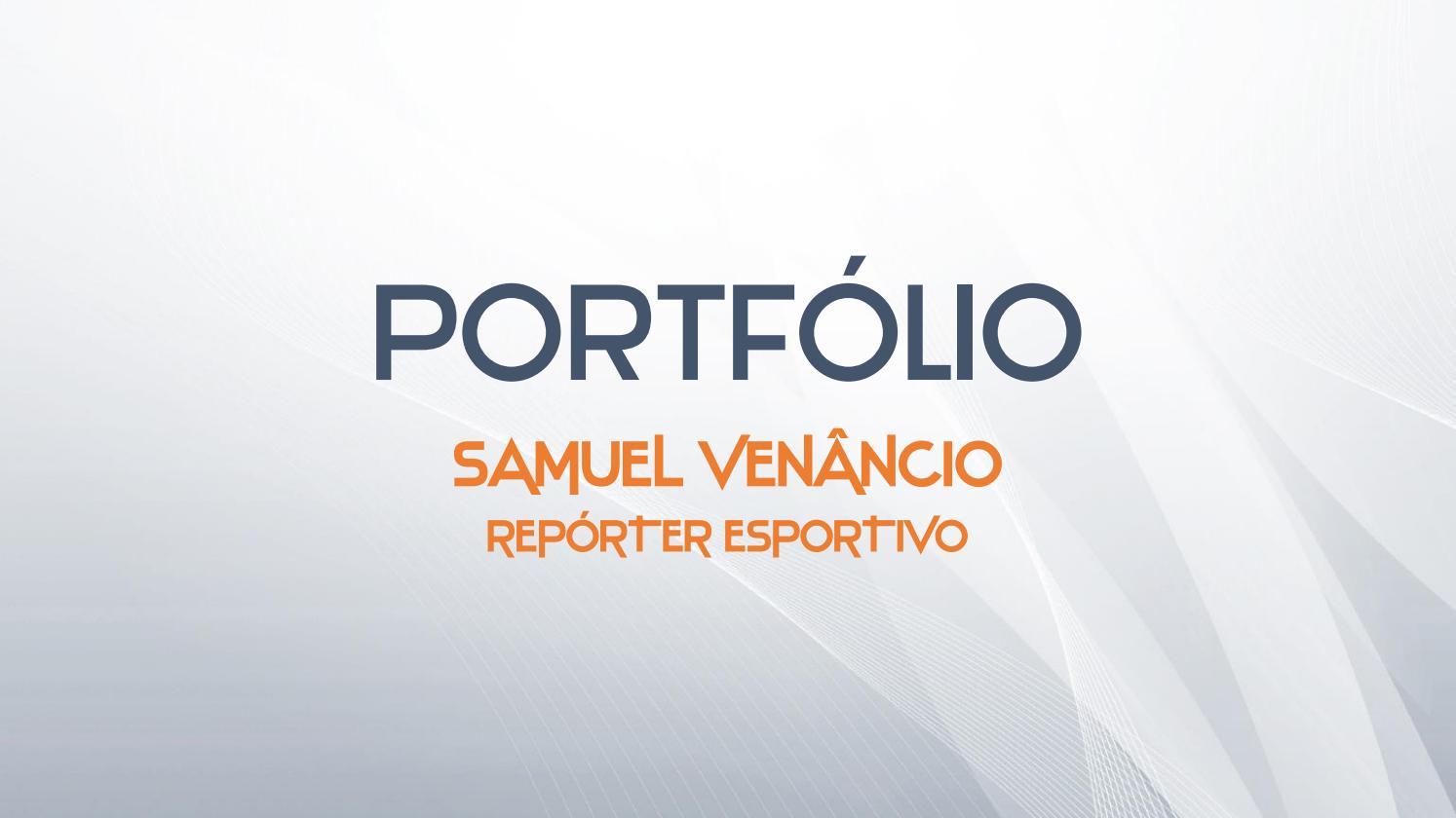 Portfolio Samuel By Samuel Venancio Issuu