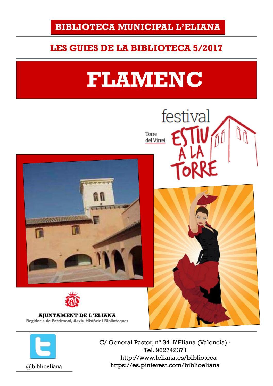 Flamenc a la biblioteca pinceladas flamencas a leliana - Biblioteca l eliana ...