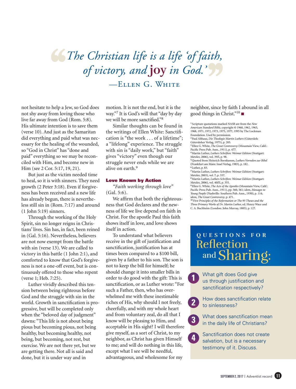 Adventist Record (Week of Prayer) - September 2, 2017