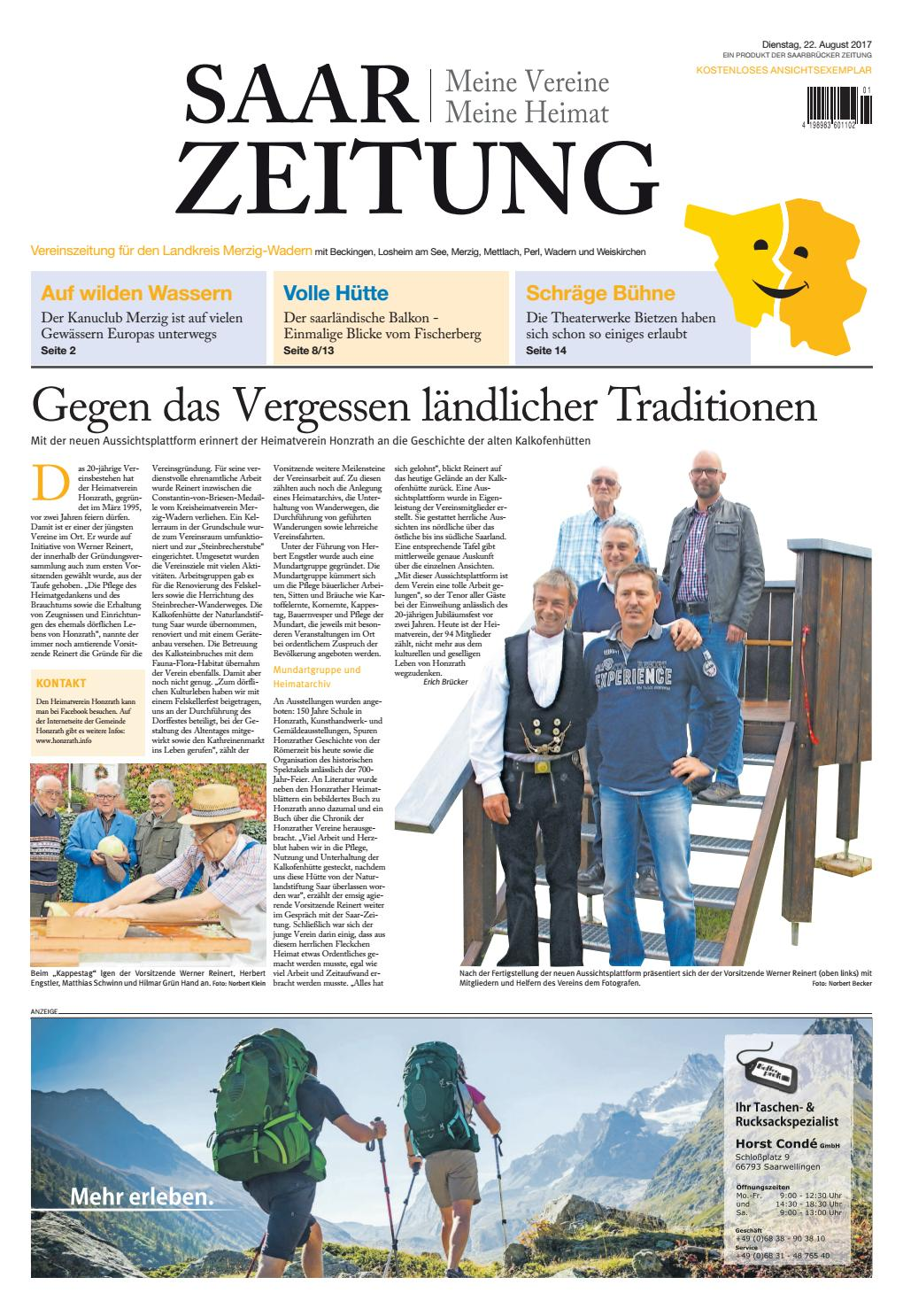 Gmbh By Merzig 2017 22 Wadern Verlagsservice 08 Issuu Saarbrücker dCroxeB