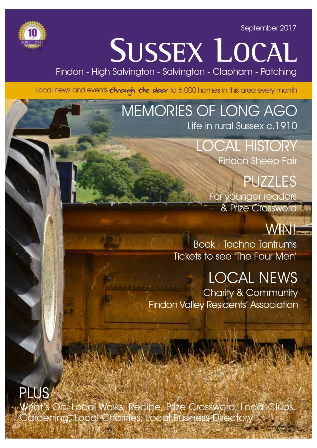 Sussex local findon september 2017 by sussex local magazine issuu malvernweather Image collections