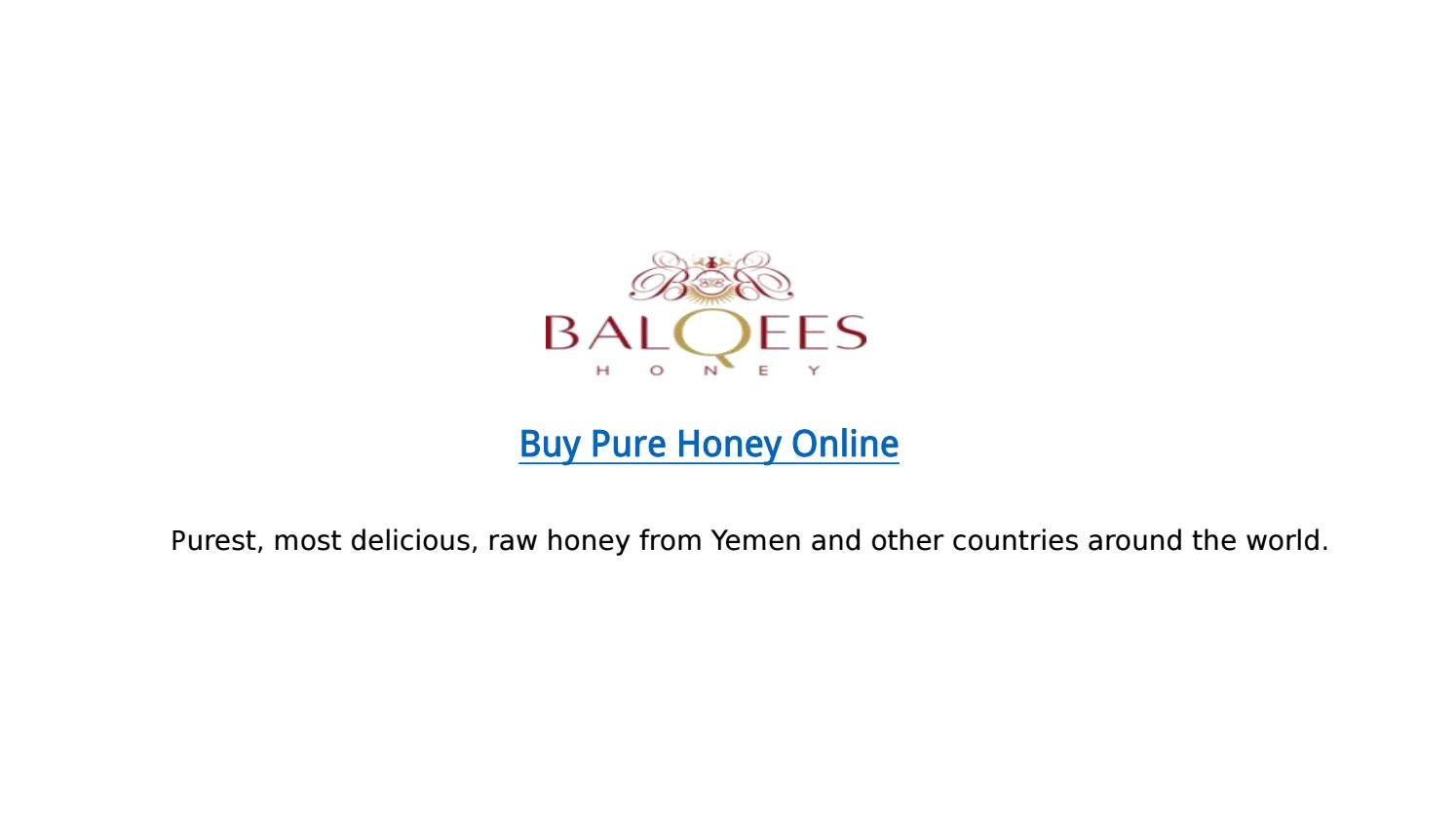 Buy Honey Online | Balqees Honey by ndznandu - issuu