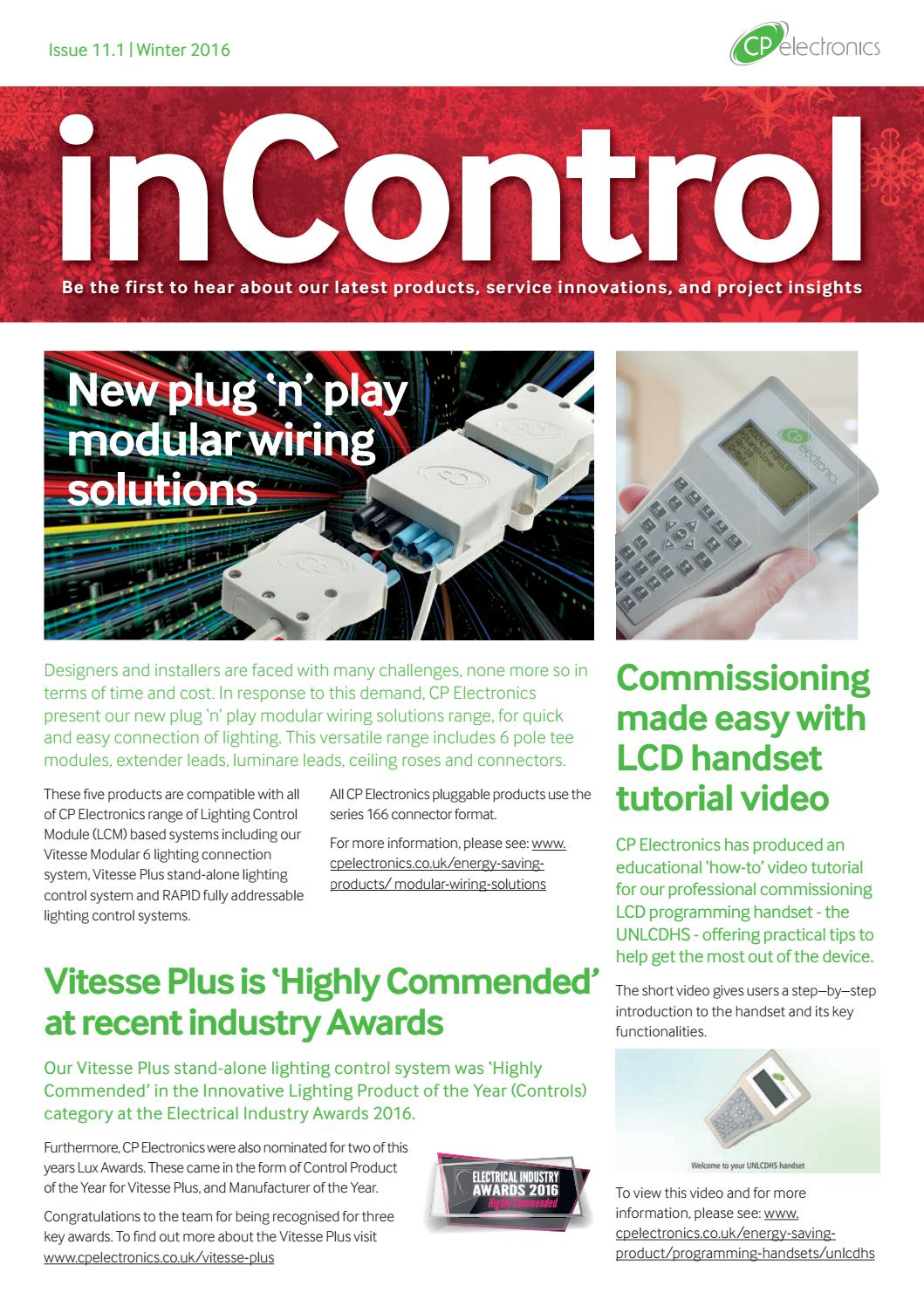 CP Electronics inControl Winter 2016 Newsletter by MicroGraphix ...