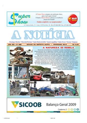 9586337b117 Jornal A Notícia - Edição 220 - Fevereiro 2010 by Jornal Nova ...