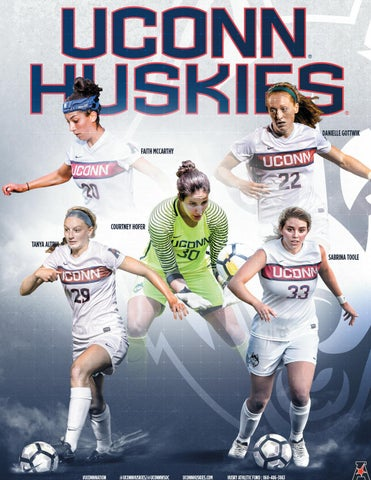 2017 UConn Women's Soccer Media Guide by UConn Divison of