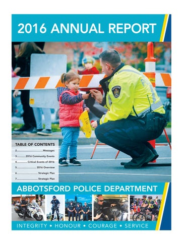 Special Features - APD - 2016 Annual Report by Black Press