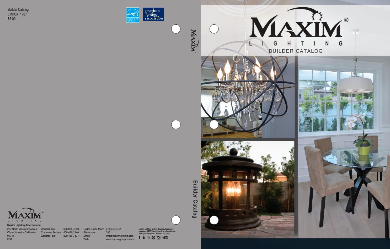 Maxim Lighting Builder Catalog By Issuu