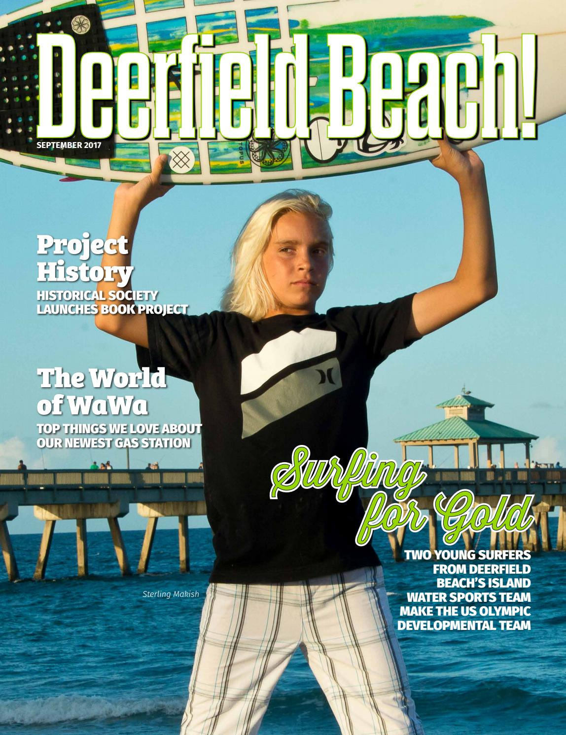 Deerfield Beach! Magazine September 2017 by Point! Publishing - issuu