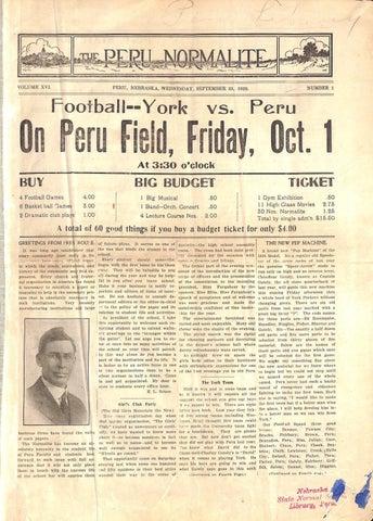 e8c1065262be95 1920-1921 The Peru Normalite - Issues 1-34 by Peru State College ...