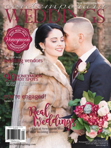 New York Weddings Magazine   Contemporary Weddings Magazine Fall Winter 2017 New York Edition