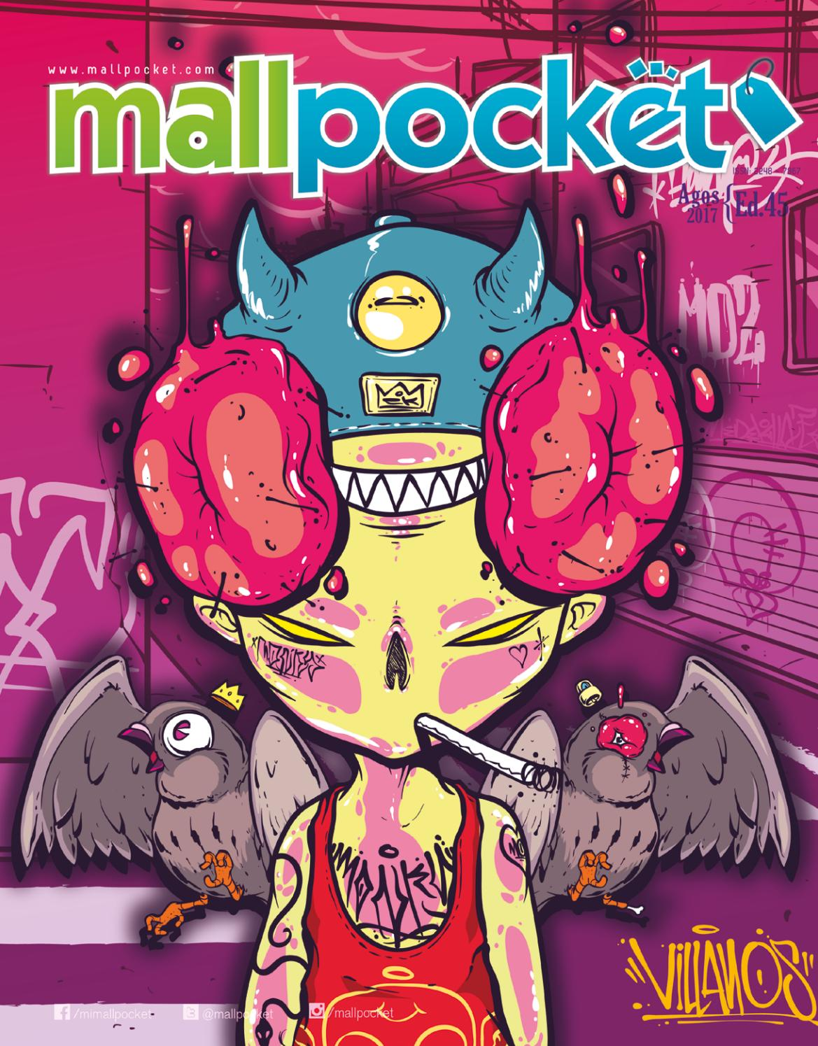 Mallpocket Ed. 45 / Villanos by Mallpocket Revista - issuu