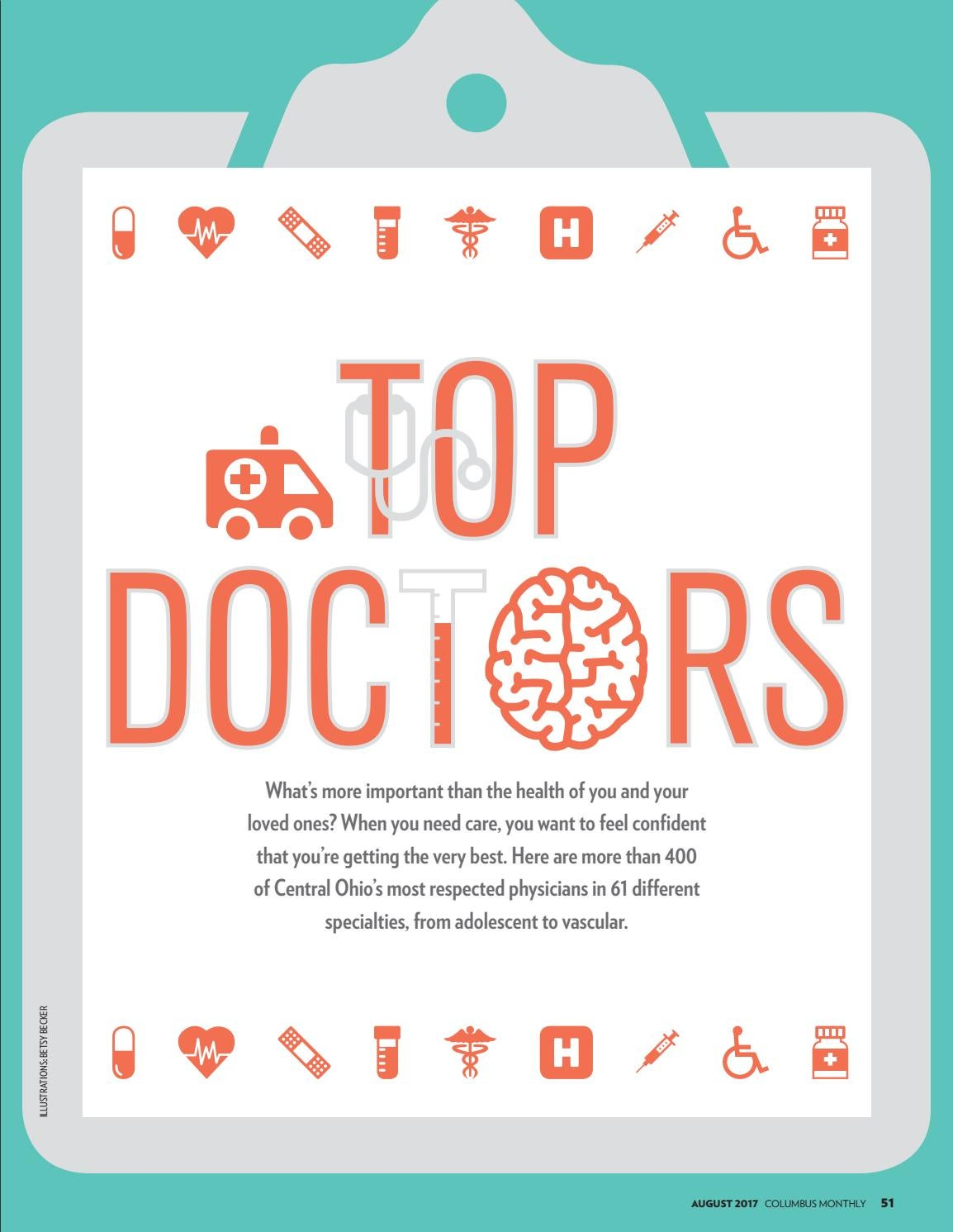 Columbus Monthly - Top Doctors 2017 by The Columbus Dispatch - issuu