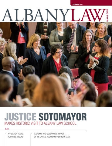 Albany Law Magazine Summer 2017 By Albany Law School Issuu