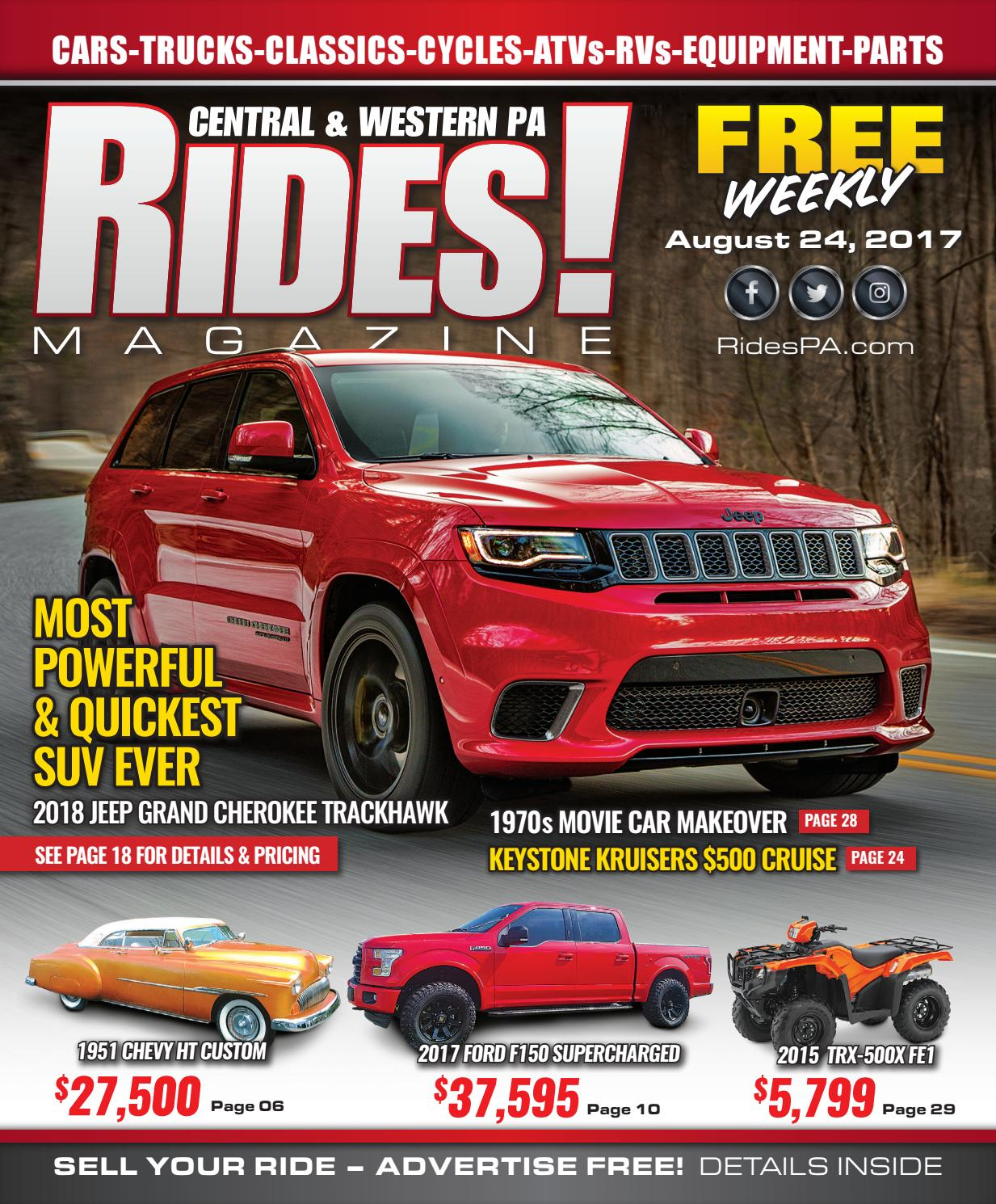 RIDES! Magazine of Central & Western PA by Stott Media - Issuu