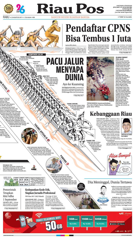 2017 08 23 By Riau Pos Issuu