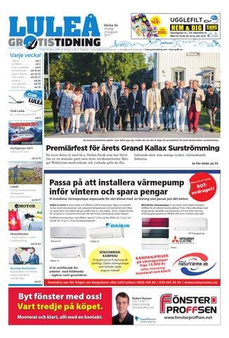 new styles 39374 21dcd Luleå Gratistidning by Svenska Civildatalogerna AB - issuu