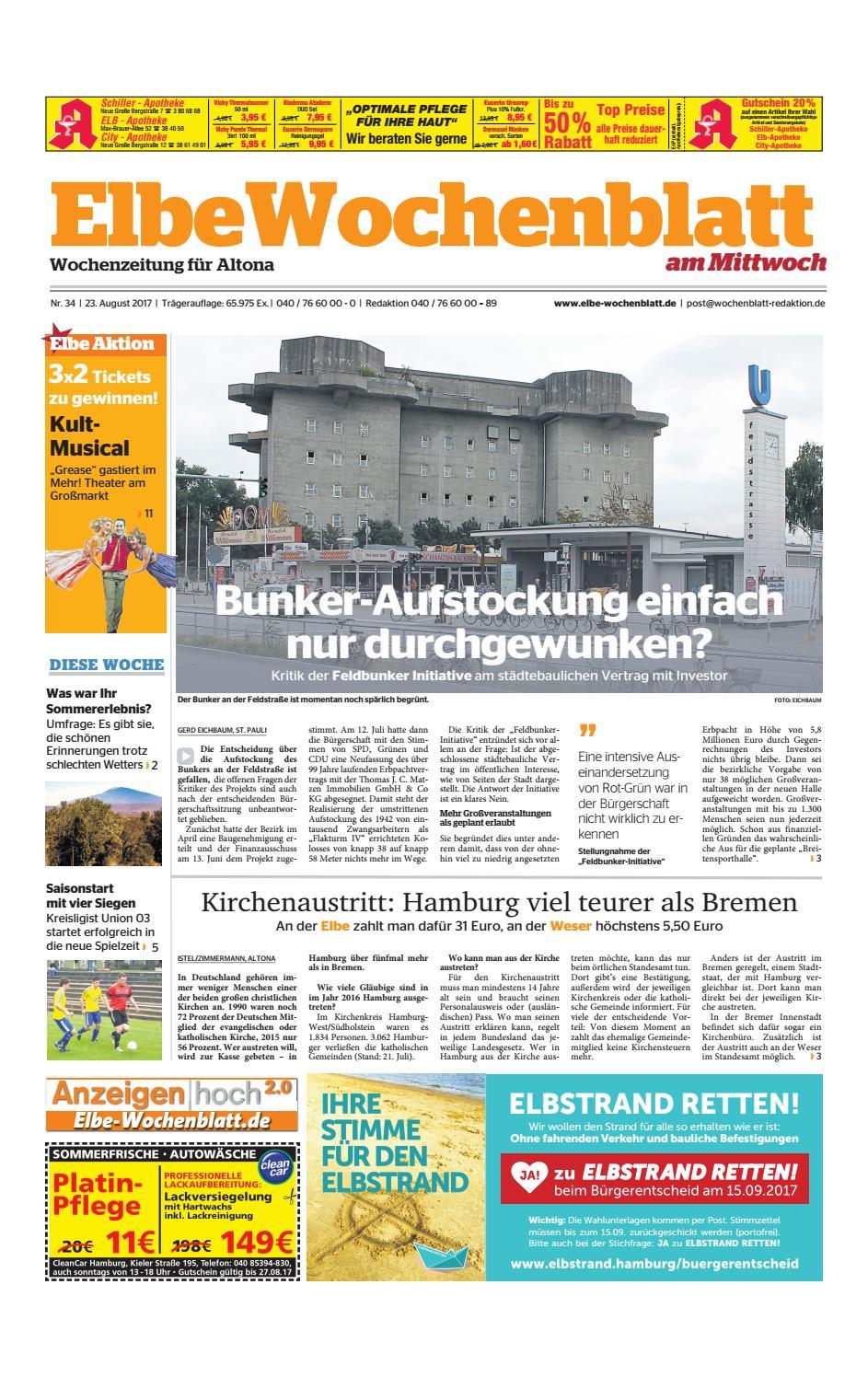 Altona KW34 2017 by Elbe Wochenblatt Verlagsgesellschaft mbH