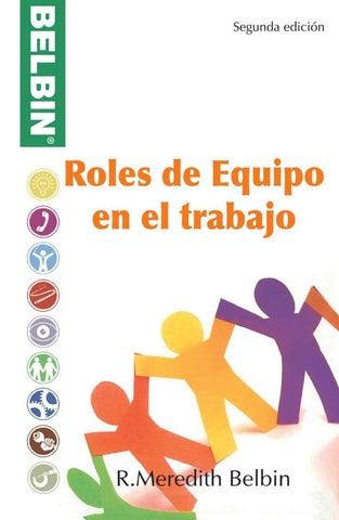 Roles De Equipo En El Trabajo Belbin By Belbin Issuu