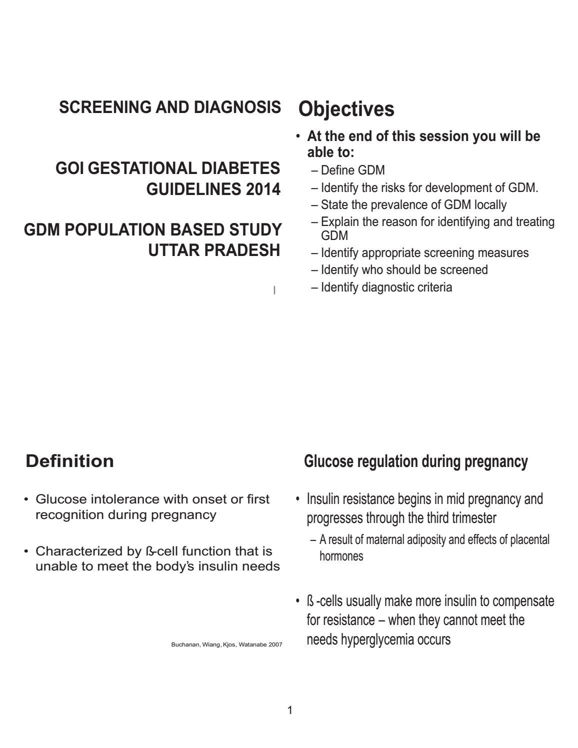 gestational diabetes screening case studies by diabetesasia by