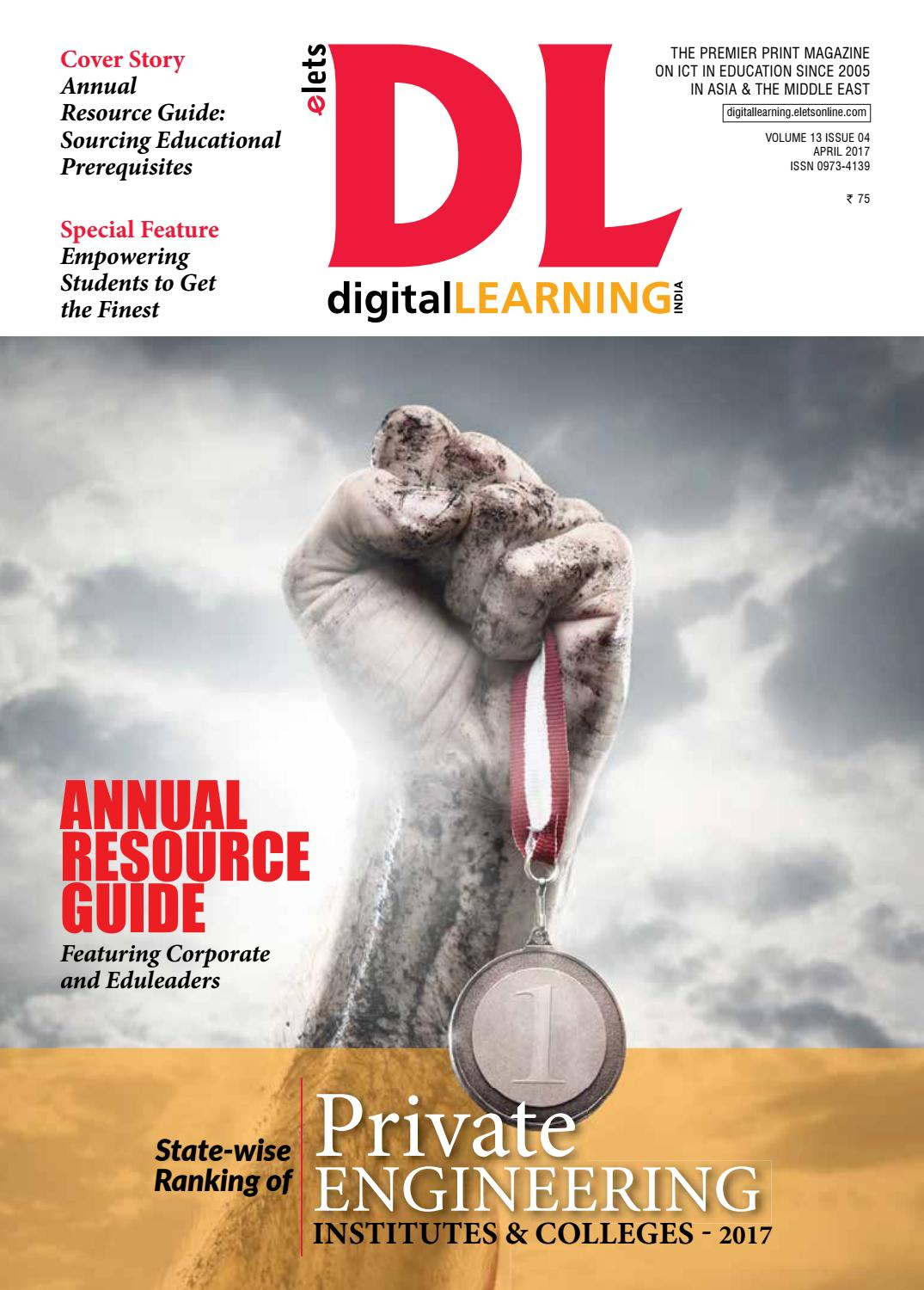 digital LEARNING Magazine April Issue 2017 by digital