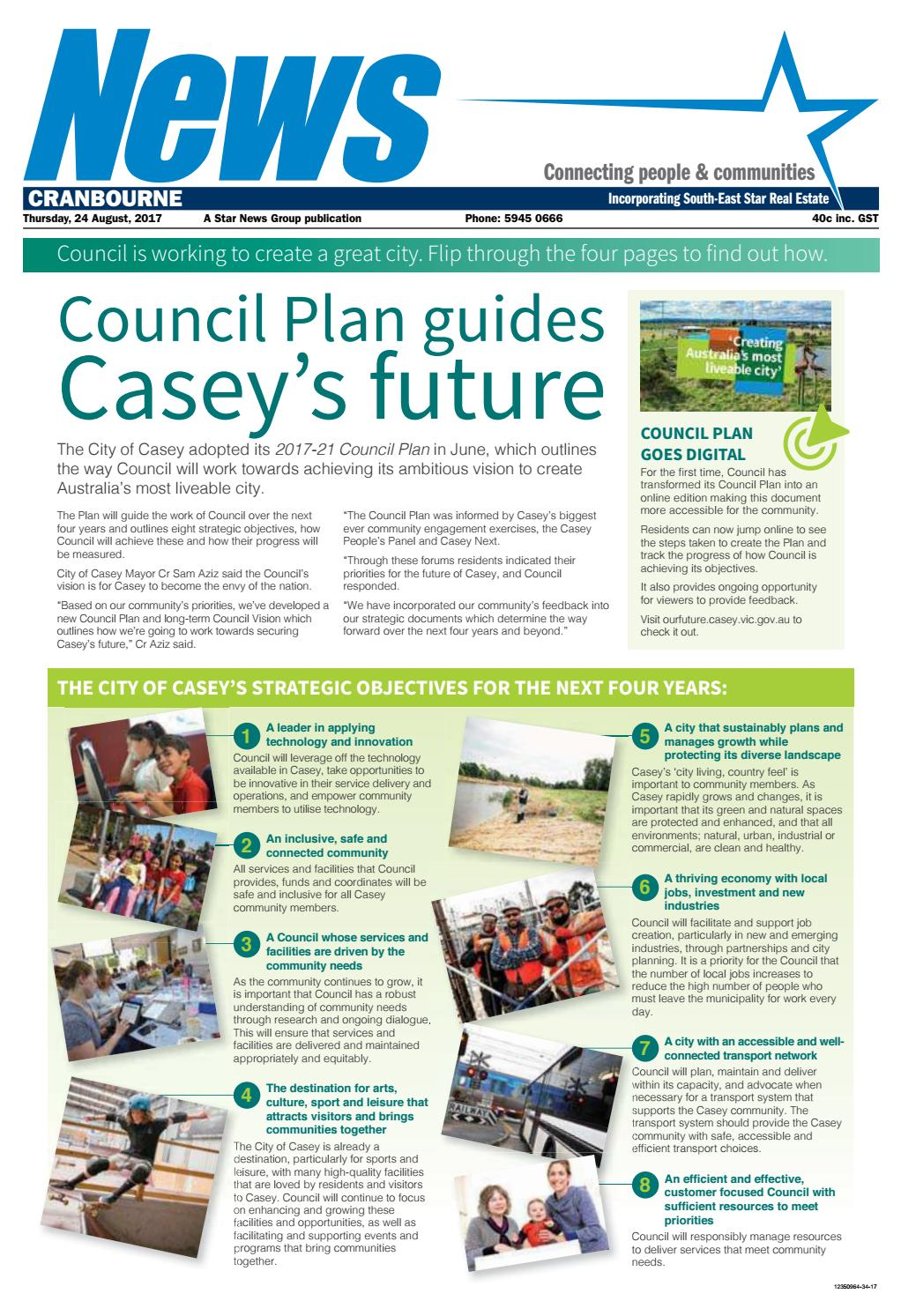 News - Cranbourne - 24th August 2017 by Star News Group - issuu Galls Fs Wiring Diagram on