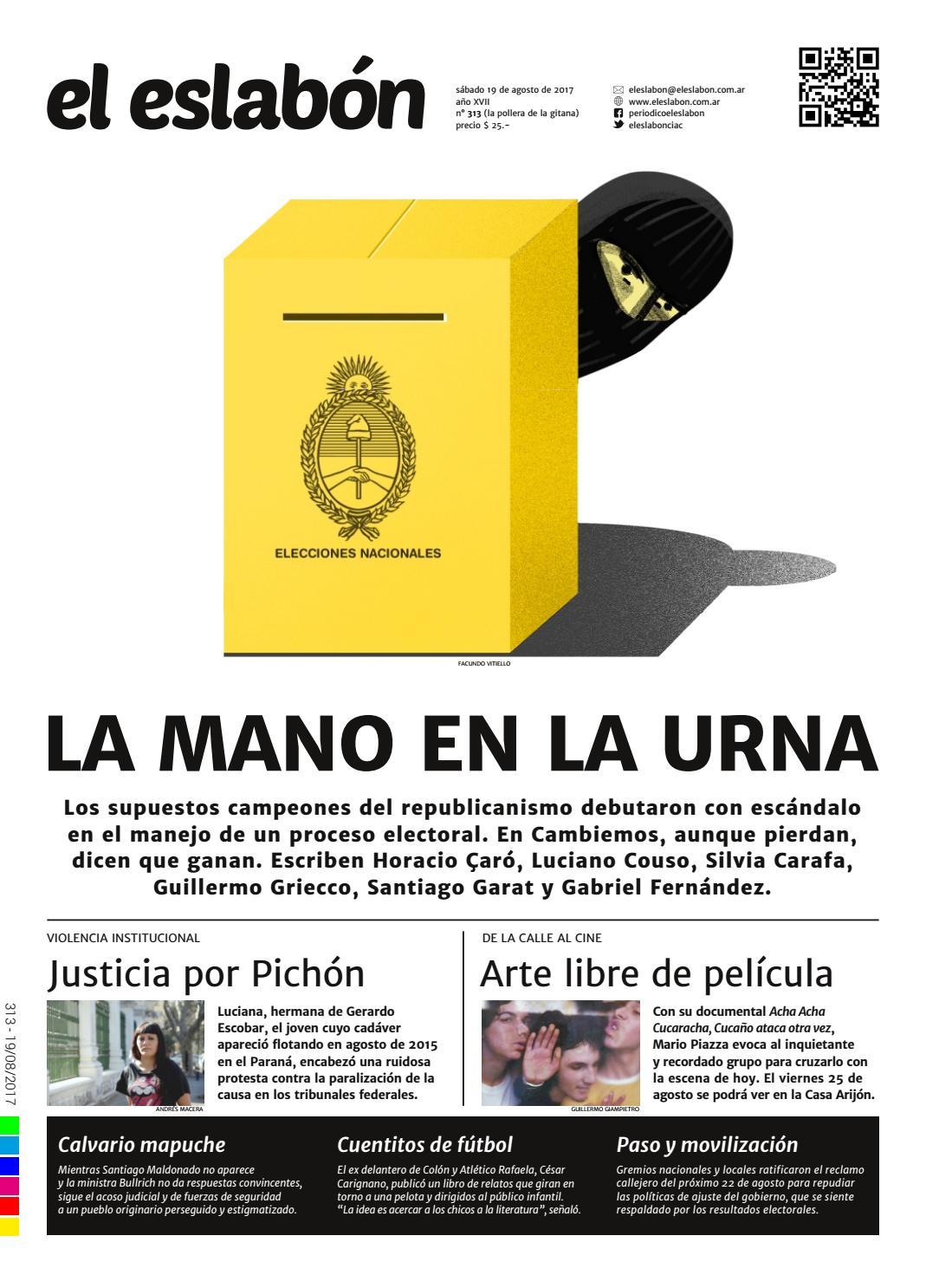 el eslabón 313 by El Eslabón de la Cadena Informativa - issuu