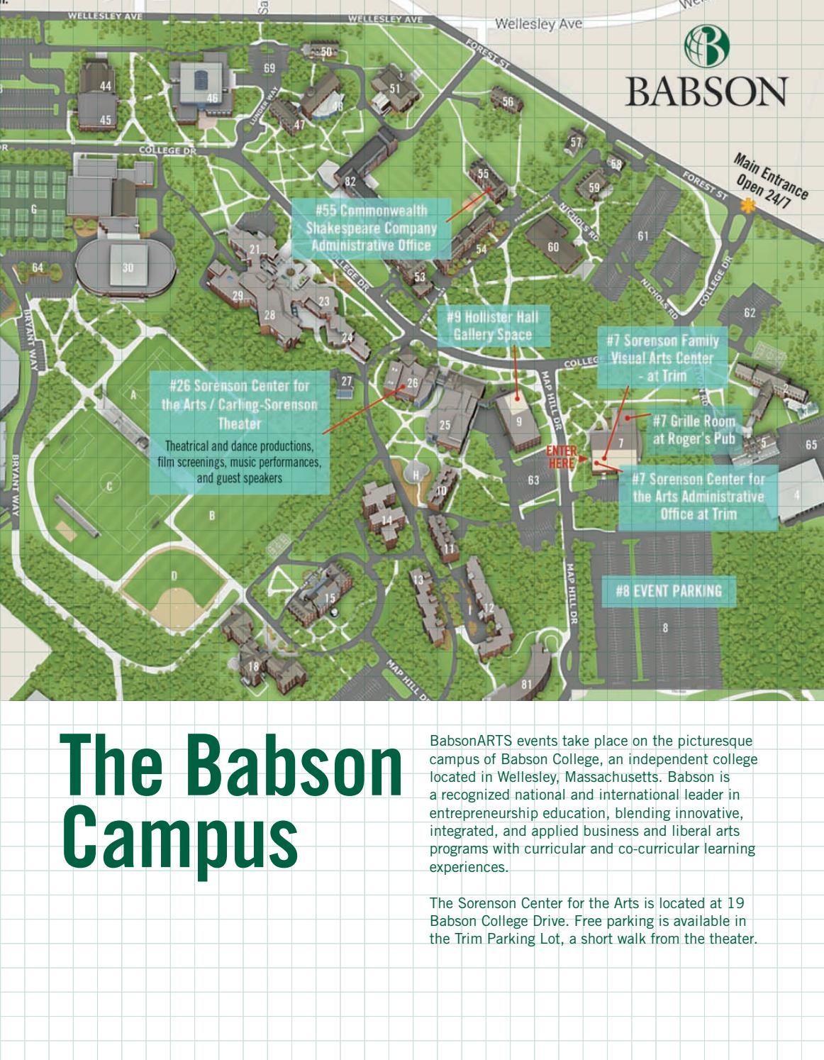Babsonarts Fall 2017 By Babson College Issuu