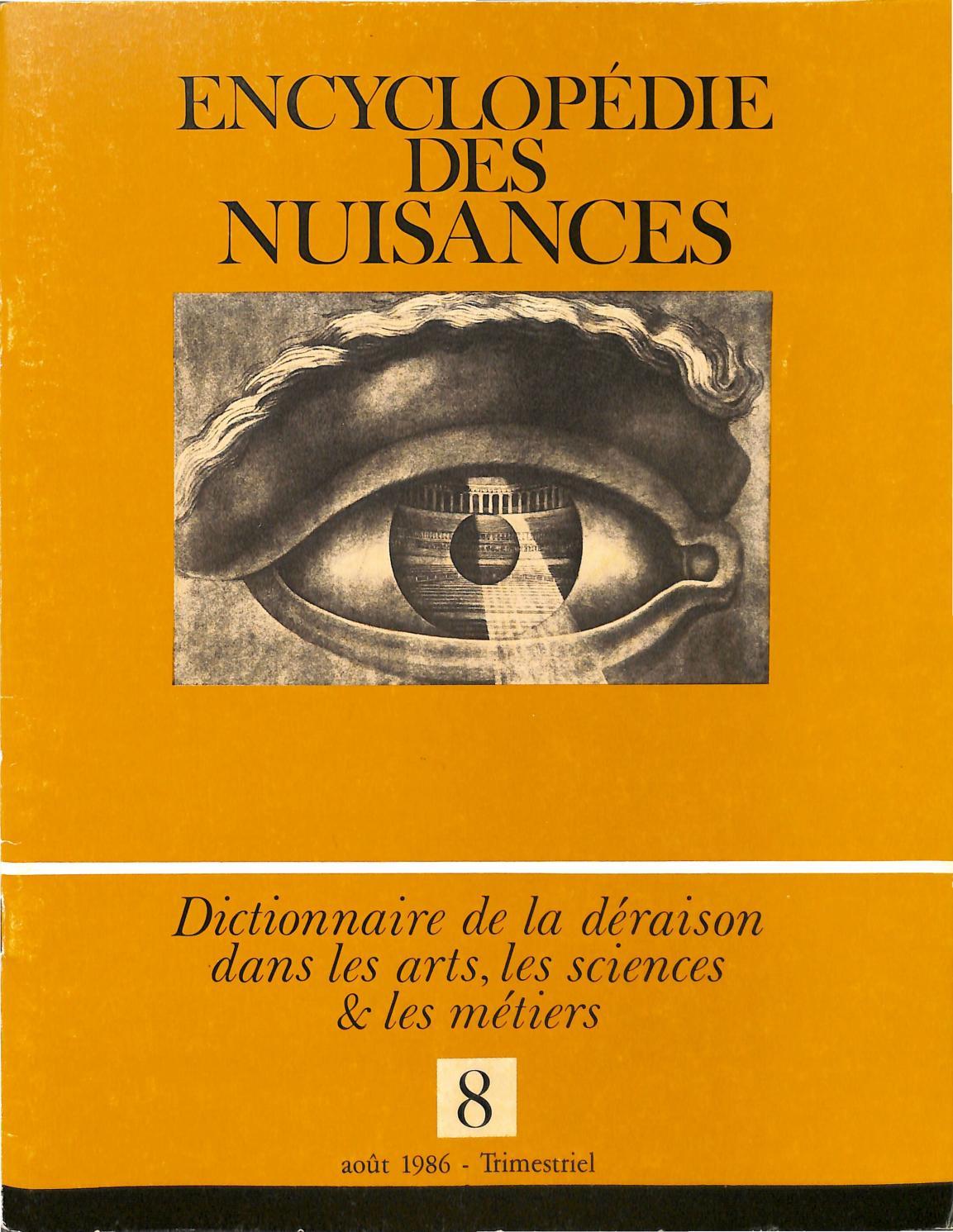 Encyclopédie des Nuissances 08 by casserdesbriques com - issuu