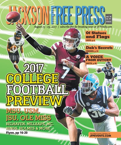 V15n51 - 2017 College Football Preview by Jackson Free Press ... 75e737568