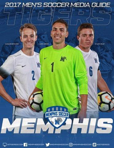 c4e5fa73a 2017 Memphis Men's Soccer Media Guide by University of Memphis ...