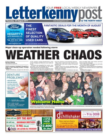 6d9b082ce4 Letterkenny post 24 08 2017 by River Media Newspapers - issuu