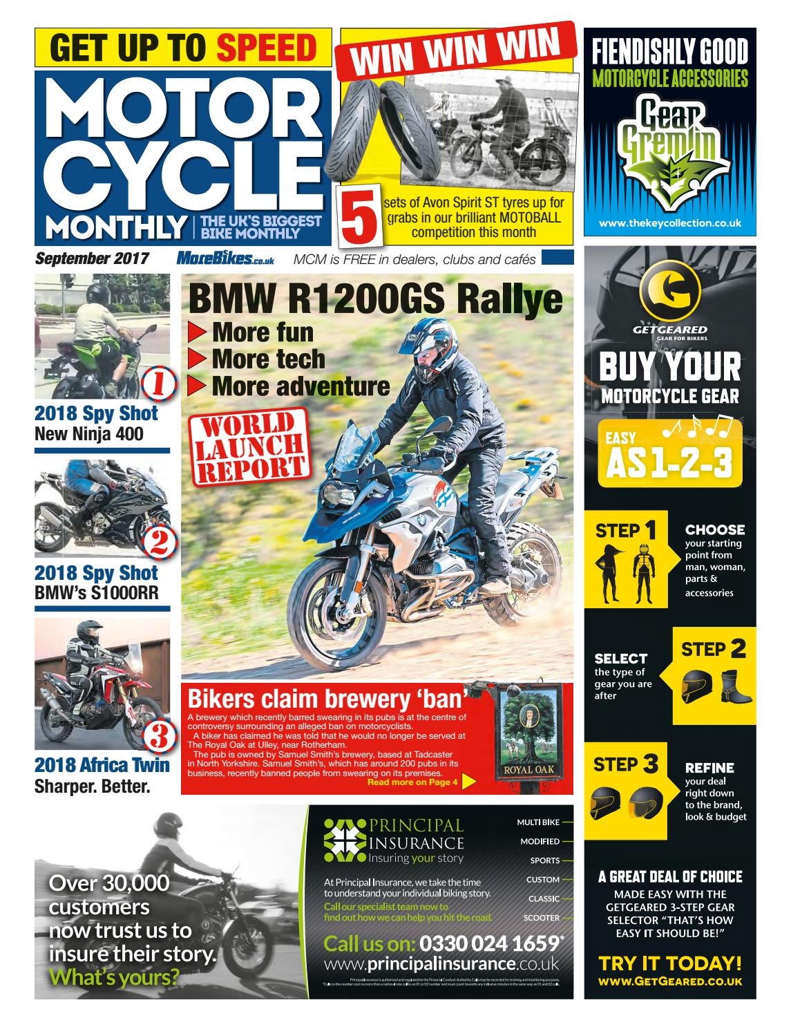Motor Cycle Monthly September 2017 By Mortons Media Group Ltd Issuu Circuit Diagram Of Xt225d Us Model