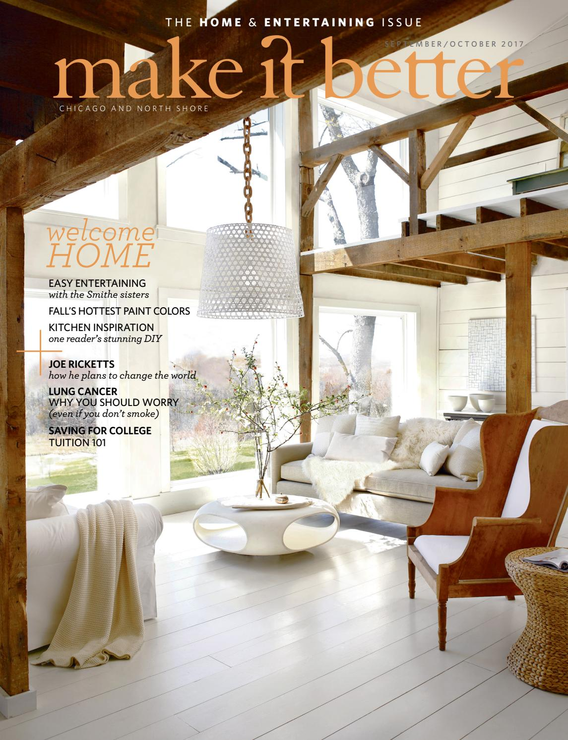 Make it better sept oct 2017 home and entertaining issue by make it better issuu