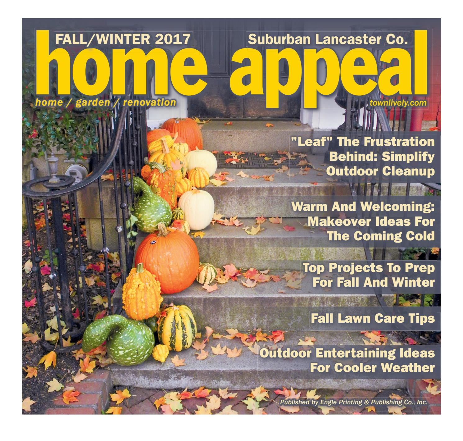 Suburban Lancaster Home Appeal Fall/Winter 2017 By Engle