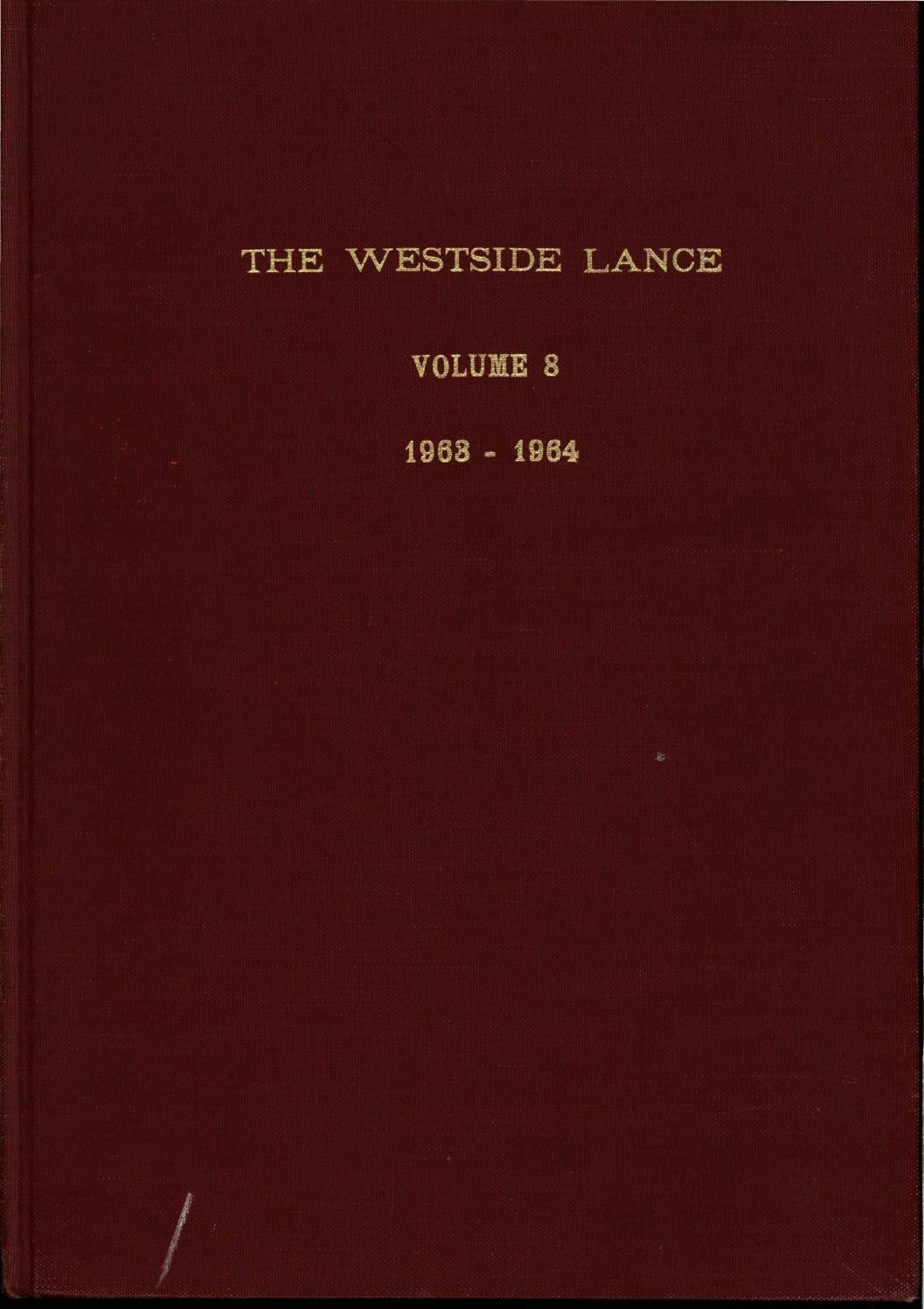 6218917a8e 1963-1964 Lance by Westside Foundation - issuu