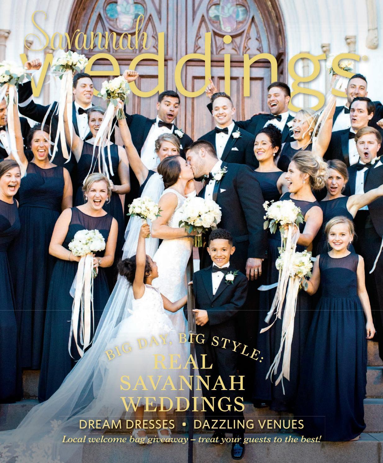 e26fb7da1f4 Savannah Weddings Magazine - Fall Winter 2017-2018 by Savannah ...