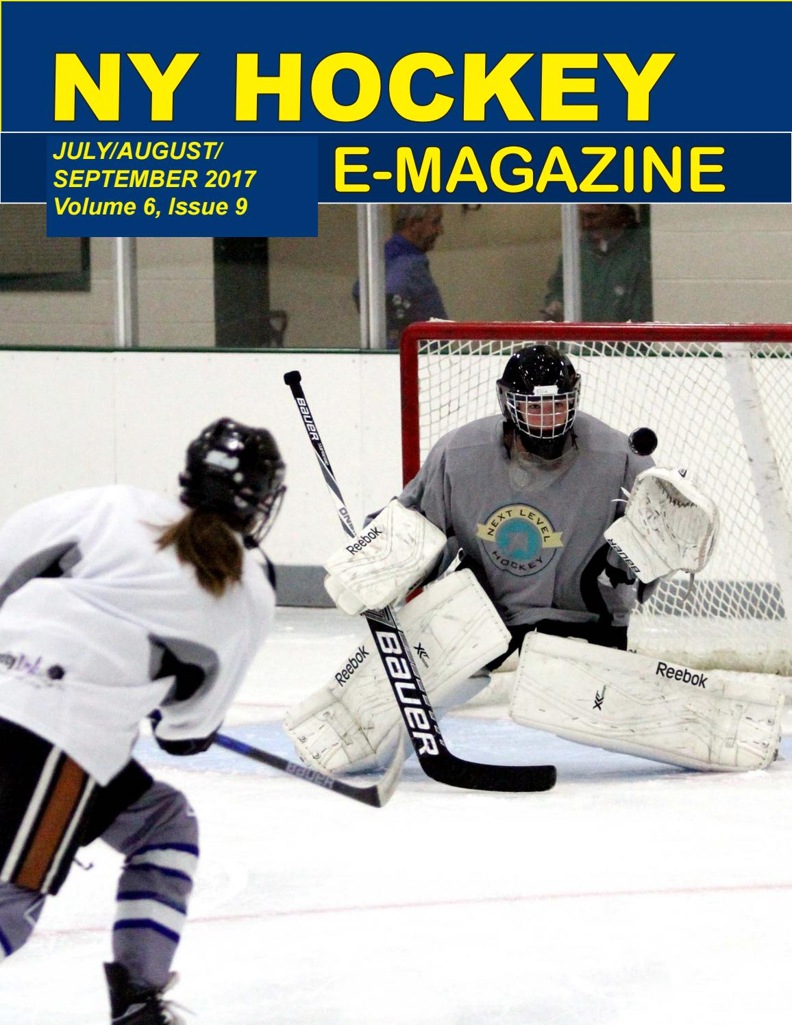 outlet store c7f95 a5ece Juy august september 2017 by NY Hockey OnLine - issuu