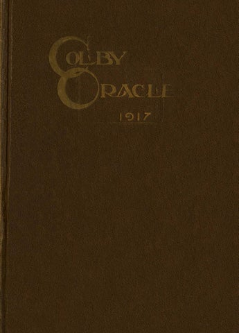 By College Libraries Issuu Oracle 1917 Colby bYf7v6gy