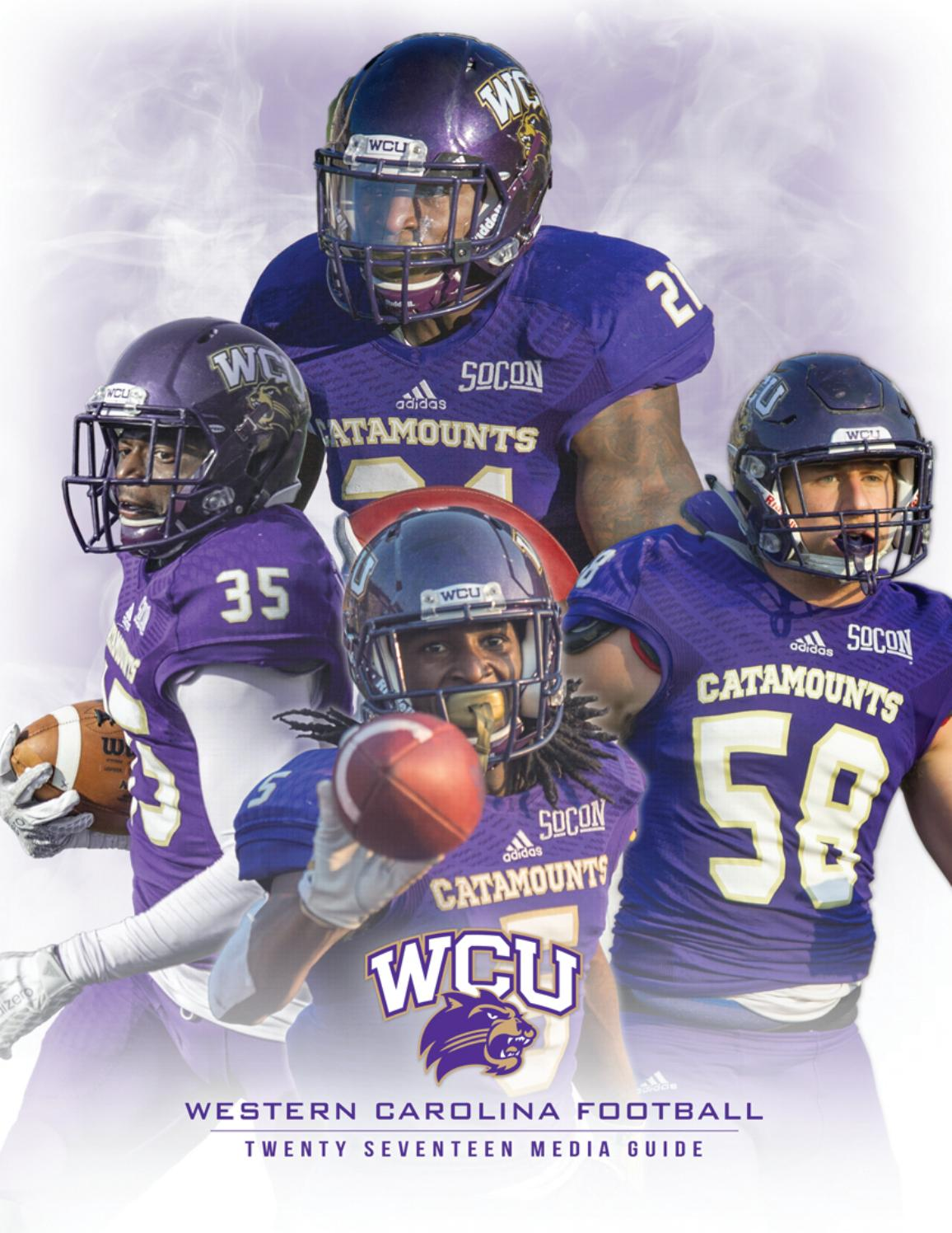 2017 Western Carolina Football Media Guide by Western Carolina University  Athletics - issuu c65e2176e