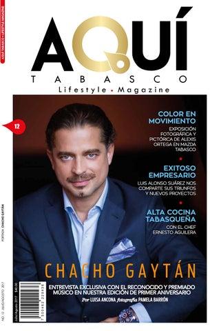 27adb1eaf7 12ª Edición 1er Aniversario Jul-Ago Portada Chacho Gaytán - Veracruz ...
