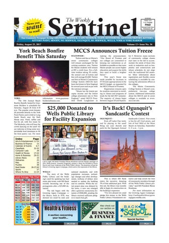 WS Aug. 25, 2017 By Weekly Sentinel   Issuu