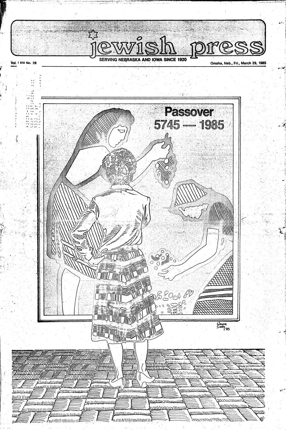 March 29, 1985: Passover Edition by Jewish Press - issuu