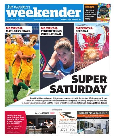 c9c15a0667 Western Weekender August 25 by Western Sydney Publishing Group - issuu