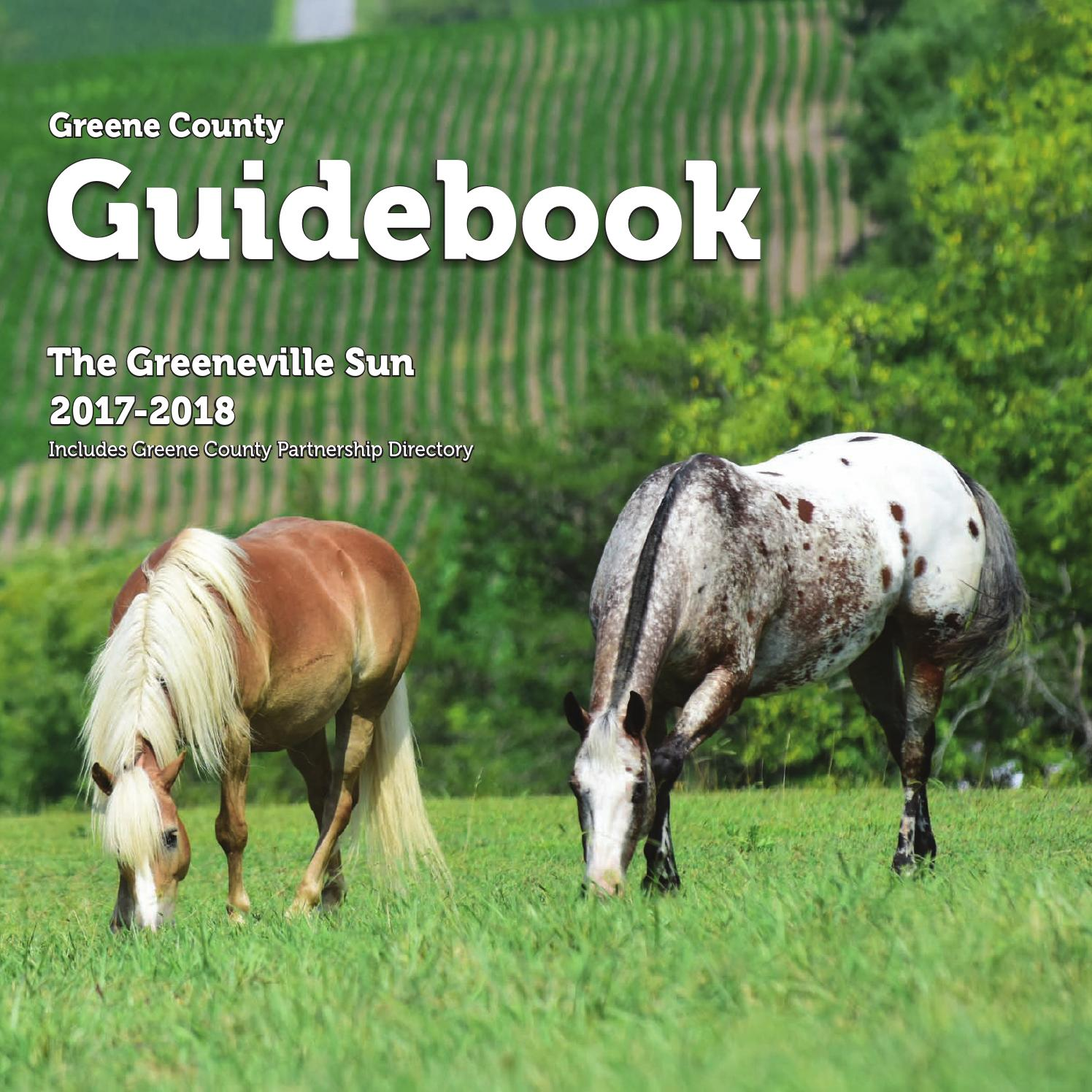 The Greeneville Sun: Guidebook 2017-18 by The Greeneville