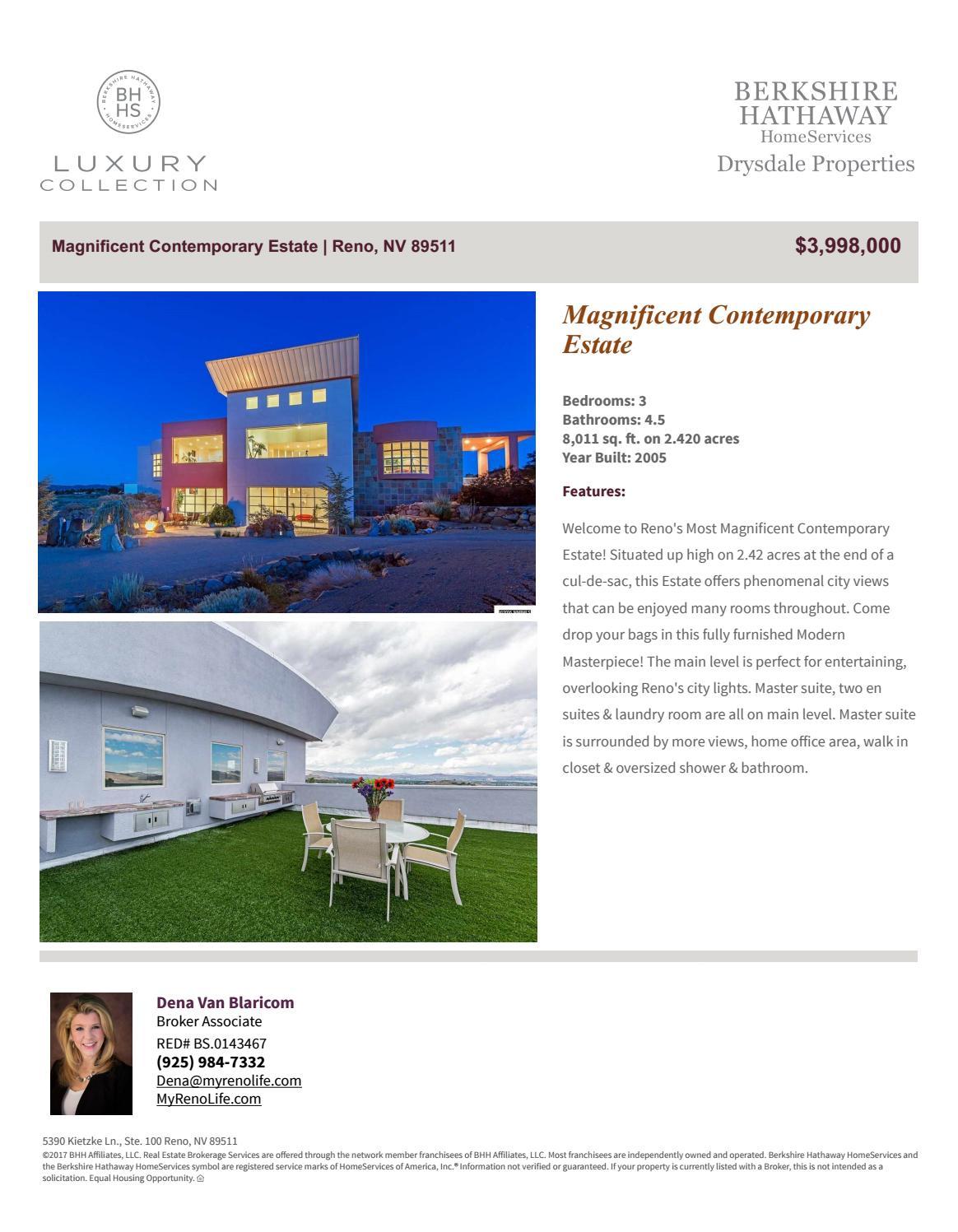August 2017 | Luxury Collection | Berkshire Hathaway