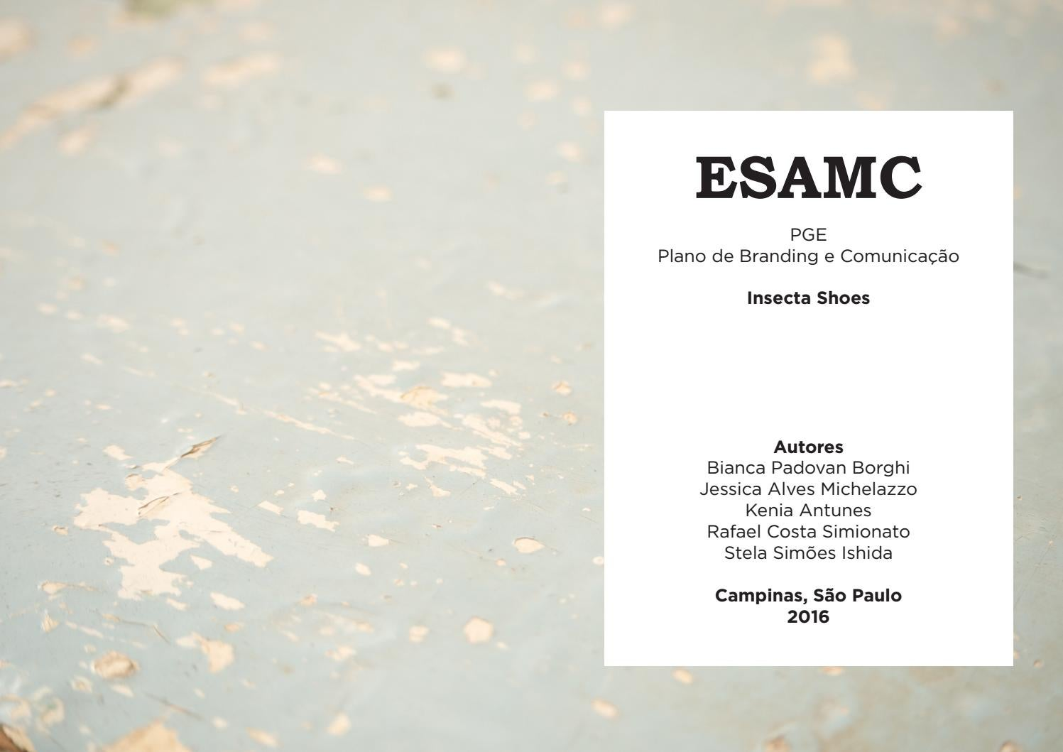7ebaf327a PGE Insecta Shoes by Jessica Michelazzo - issuu