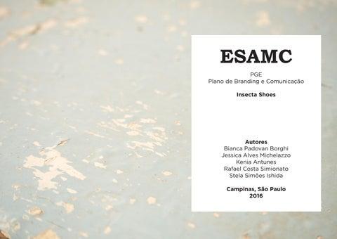 5126c6c24 ESAMC PGE Plano de Branding e Comunicação Insecta Shoes