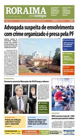Jornal roraima em tempo – edição 712 by RoraimaEmTempo - issuu 3bdae133c3572