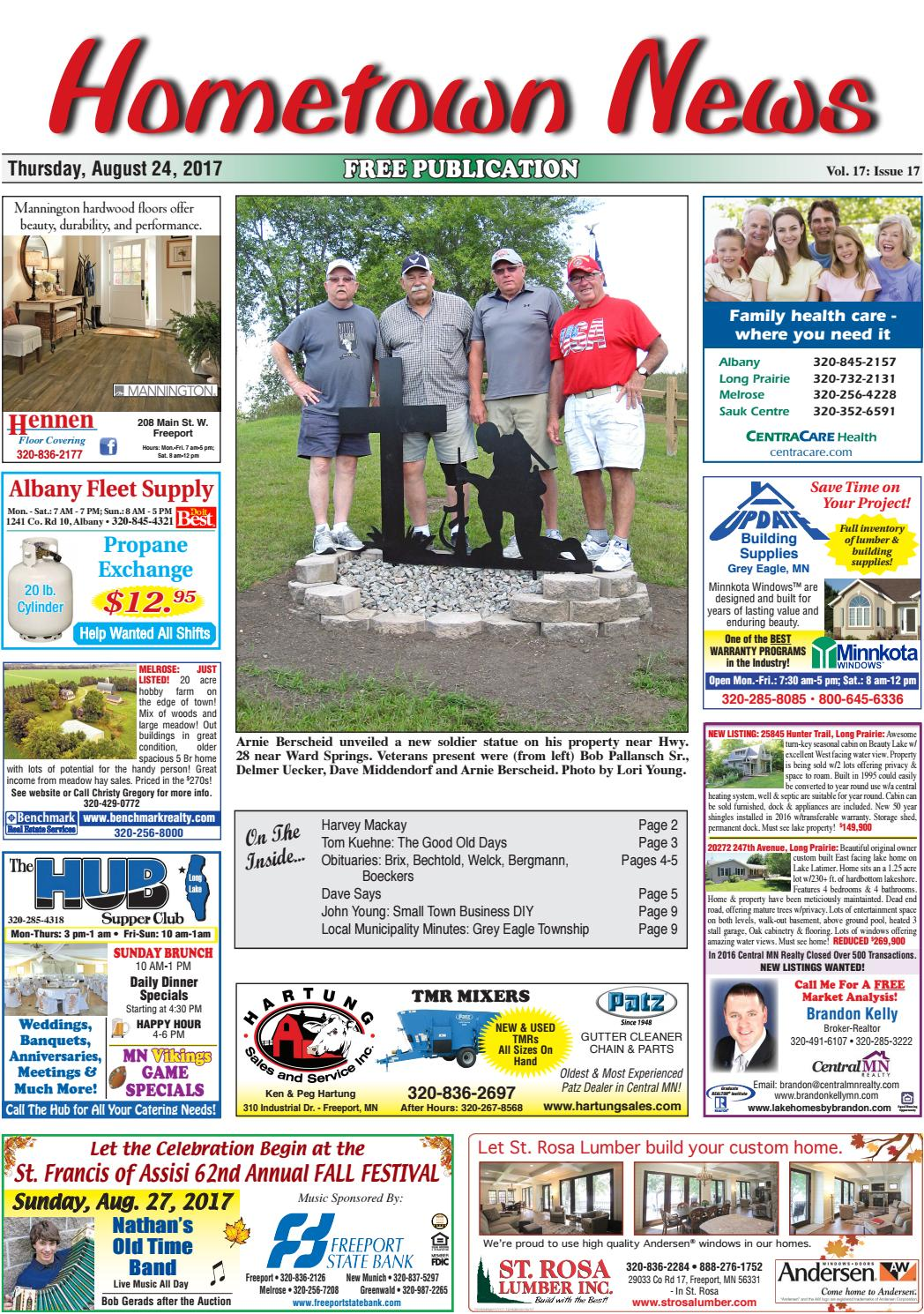 hometown news august 24 2017 by hometown news issuu